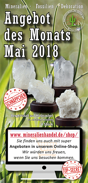 Angebot des Monats Mai 2018