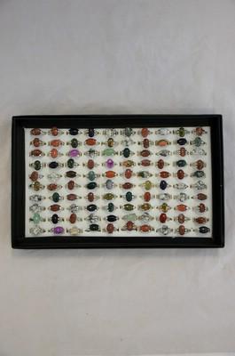 Mineralien-Ringe Box