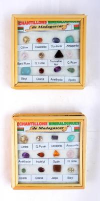 Facettierte Edelstein Box Madagaskar