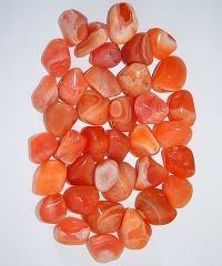 Achat apricot Trommelsteine