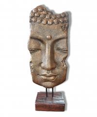 Buddha Gesicht auf Ständer