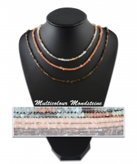 Mondsteine Multi Color Kette