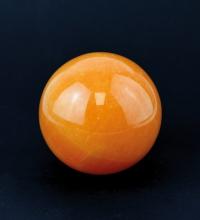 Calcit orange Kugel