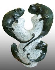 Chamäleon Statue [Einzelstück]