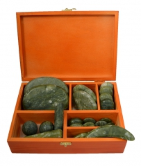 Chinese Jade Massage Set