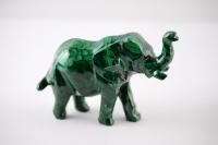Malachit Elefant
