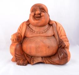 Happy Buddha sitzend 30cm