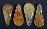 New Shape Bergkristall mit Eiseneinschlüssen