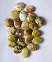 Opal grün Amulet Shape