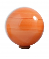 Calcit orange Kugeln 150 mm