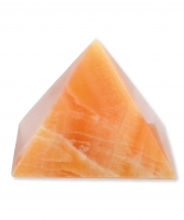 Calcit orange Pyramiden 20 cm