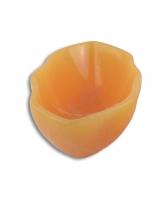 Calcit orange Schale Welle